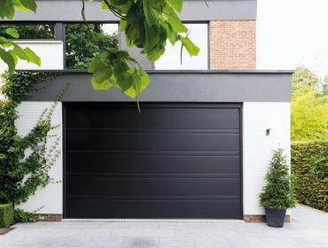 Sectionale poorten modern